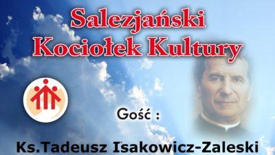 Ksiądz Isakowicz-Zaleski w Salezjańskim Kociołku Kultury