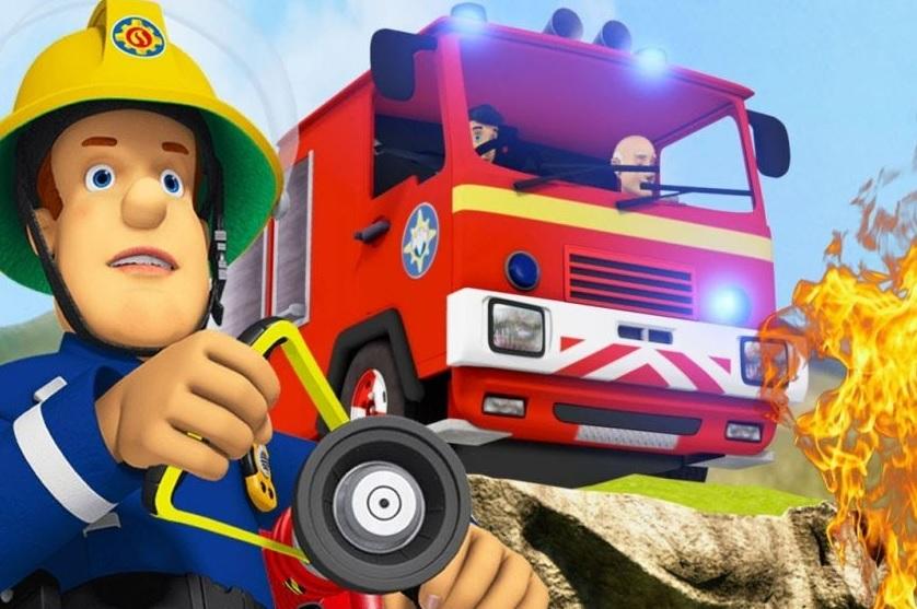 Niedzielny poranek ze strażakiem Samem