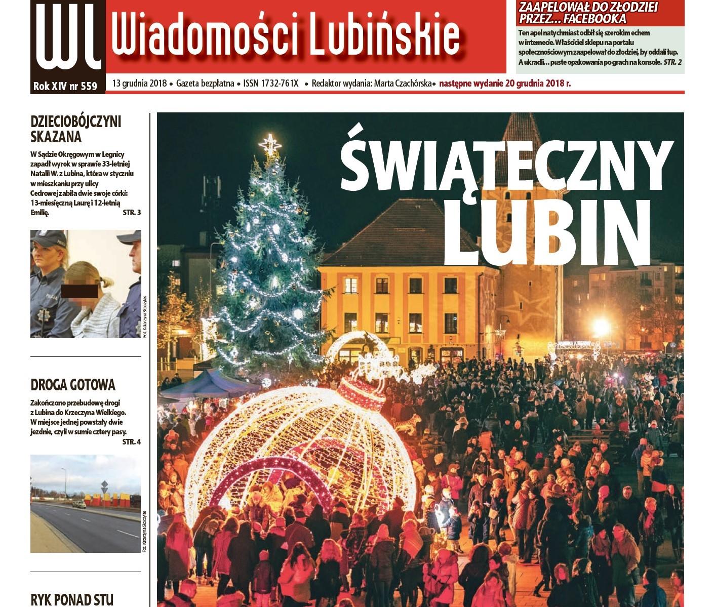 """Kolejny numer """"Wiadomości Lubińskich"""""""