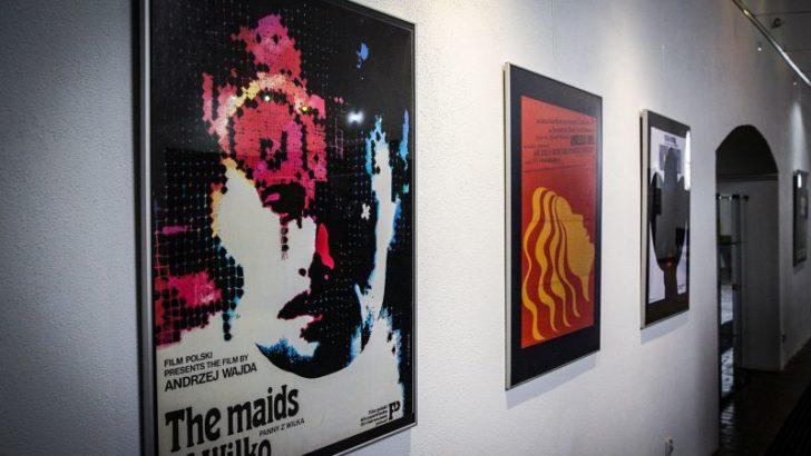 Polski plakat filmowy w lubińskiej galerii