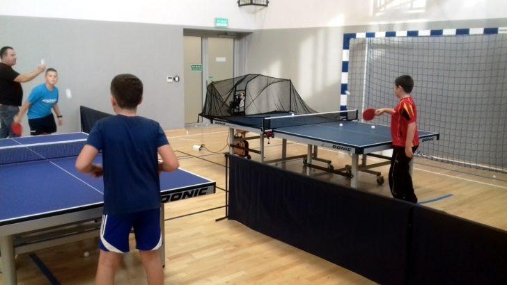 Ruszyły regularne zajęcia z tenisa stołowego