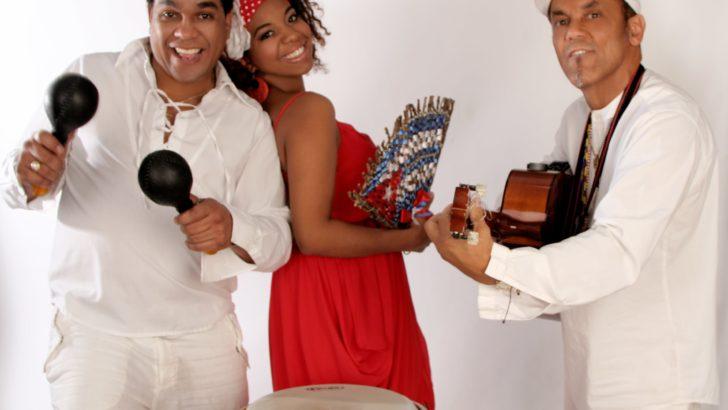 Kubańskie rytmy w altanie za Muzą