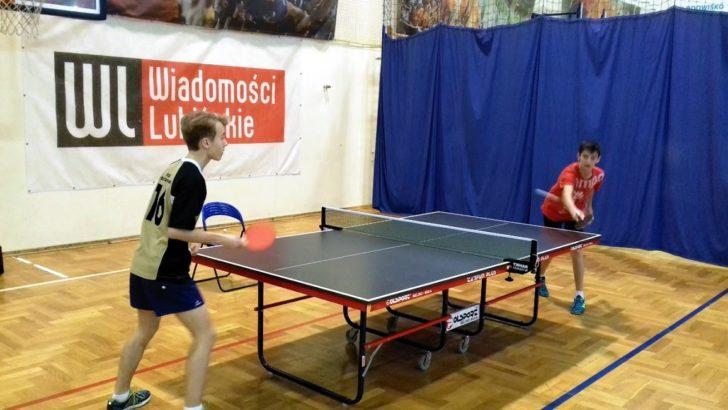 Międzyszkolny turniej tenisa stołowego