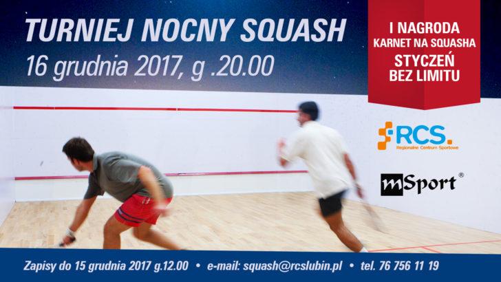 Nocny turniej squasha