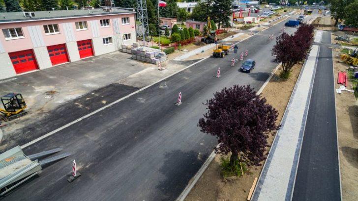 Ścinawska na finiszu – trwa remont głównej drogi Lubina