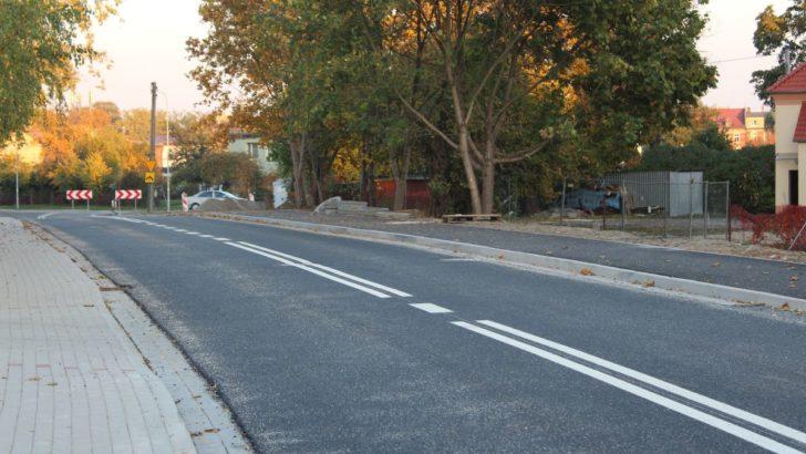 Zakończono pierwszy etap przebudowy Kochanowskiego