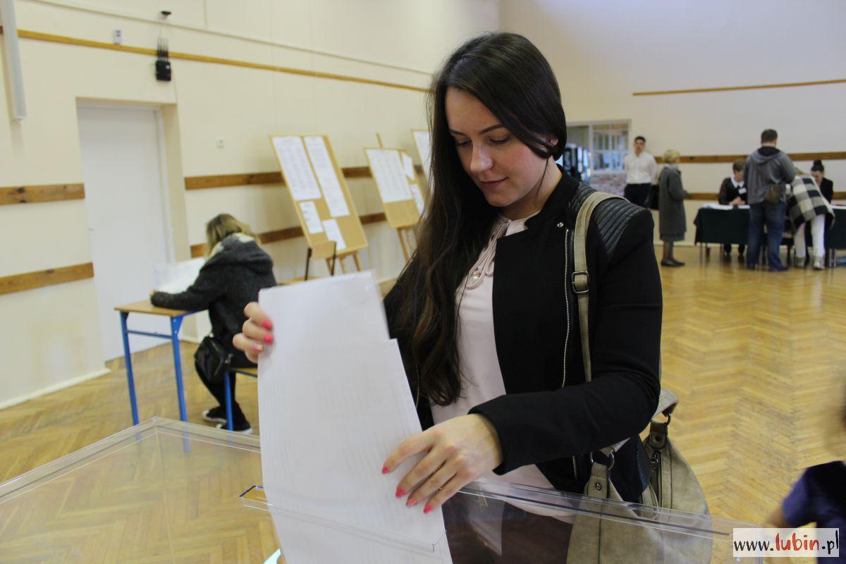 W Lubinie do godziny 17 zagłosowało niecałe 40 procent