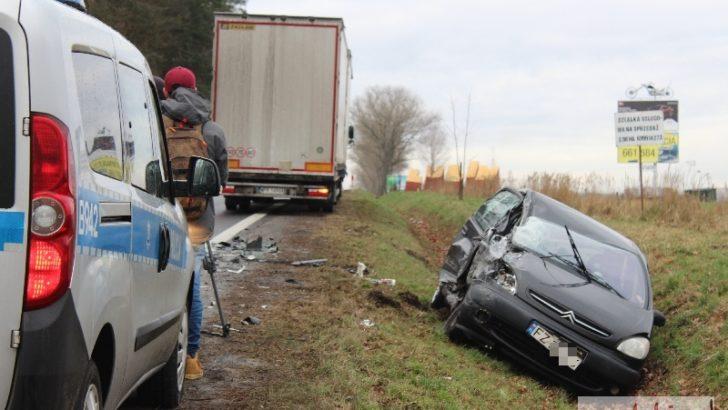 Wypadek za wypadkiem