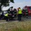 Wypadek, droga Lubin – Ścinawa zablokowana