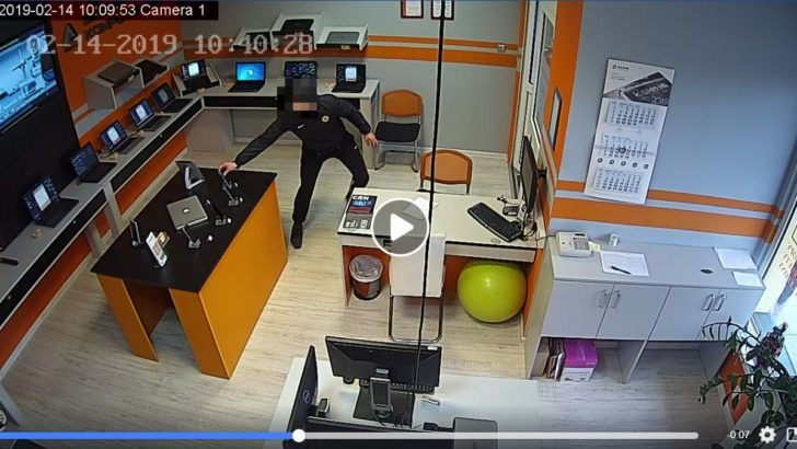 Bezczelny złodziej. Okradziony szuka go przez Facebooka, obiecuje nagrodę