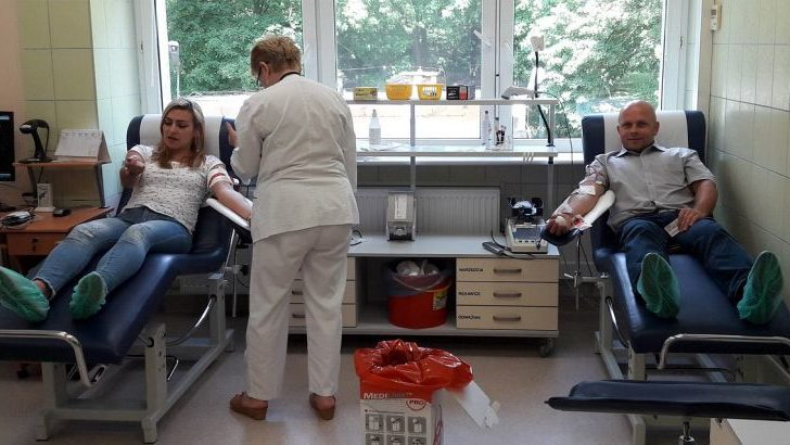 Oddali ponad 130 litrów krwi