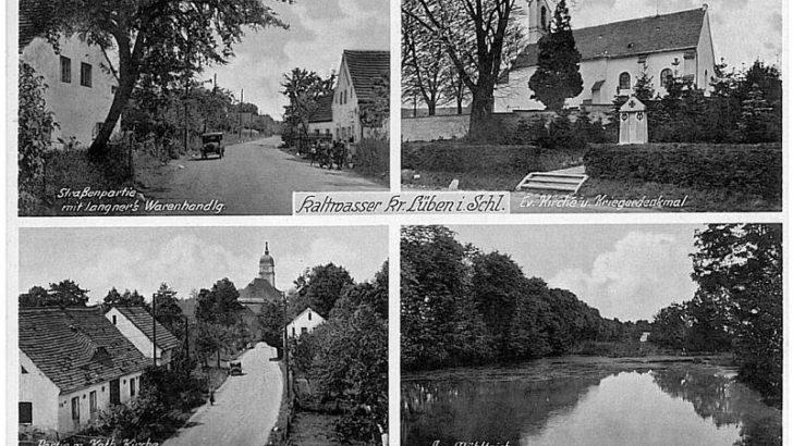 Przedwojenne pocztówki z okolic Lubina