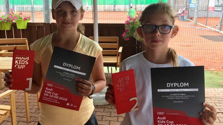 Świetne zawody na lubińskich kortach